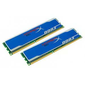 Память DDR-III 1600 DIMM 4GB (PC3-12800 2 x 2Gb) Kingston HyperX [KHX1600C9D3B1K2/4GX]