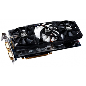 Видеокарта Innovision NVIDIA GeForce GTX 580 3GB DDR5 384Bit Dual DVI-I mini HDMI PCI-Е (N58V-1SDN-L5HW) Retail