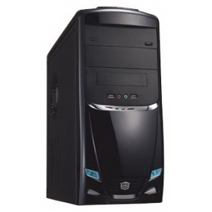 �������� ��������� CROWN Intel Core i3-2105 3.00 GHz H61 DDR3 4Gb HDD 1500Gb Blue-Ray 5.1 HD Audio LAN CR BT Wi-fi KB+M