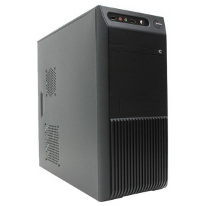 Корпус OPTIMUM N-530B420W Black (2USB, Audio, AIR DUCT)