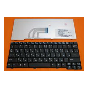 Клавиатура для ноутбука ACER Aspire One 531H, D150, D250, P531, AOA150, ZG5?A110; Gateway LT30 LT3000 BLACK RU