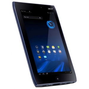 "Планшет Acer Iconia Tab A100 8Gb (7"" NV-Tegra 250 1GB 8GB BT WIFI Dual Cam USB HDMI Android 3) Black [XE.H6REN.015]"