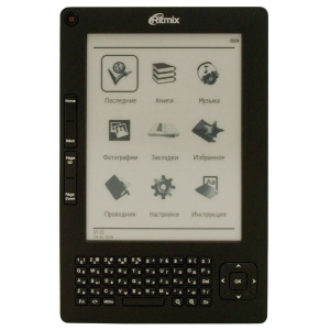 "Электронная книга RITMIX RBK-520 {E-Ink, 6"", 600x800, TXT, fb2, MP3, JPEG }"