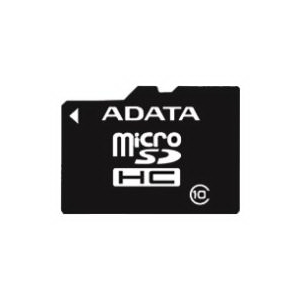 SD Micro 32Gb  A-DATA Class 10 + адаптер SD (AUSDH32GCL10-RA1)