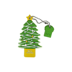 USB2.0 Flash Drive 4Gb ICONIK (RB-TREE-4GB) ЕЛКА