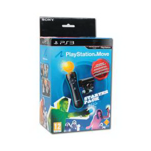 Playstation Move: Starter Pack (включает Motion Controller +Eye Camera + Праздник Спорта)