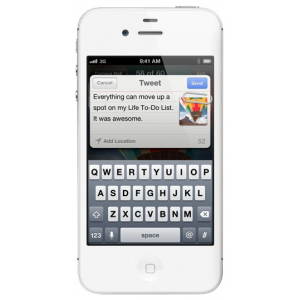 Коммуникатор Iphone 4S 32Gb White (MC921/MD245)