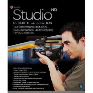 ПО Pinnacle Systems Studio hd ultimate collection V.14
