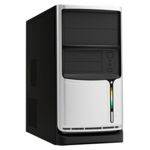 Домашний компьютер Матрица 21 Intel Core i-3 2120 3.3GHz H61 DDR3 4Gb HDD 500Gb DVD-RW GTS450 1Gb LAN CR BT Win 7HB