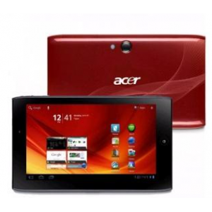 "Планшет Acer Iconia Tab A100 8Gb (7"" NV-Tegra 250 1GB 8GB BT WI-FI Dual Cam USB HDMI Android 3) Red [XE.H8MEN.009]"