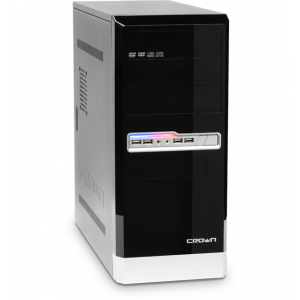 Домашний компьютер Матрица 24 AMD Athlon II X2 B24 (3.00 Ghz) DDR3 8Gb HDD 1000Gb DVD-RW ATI HD6670 1024Mb HD Audio LAN Wi-fi  Win7HB