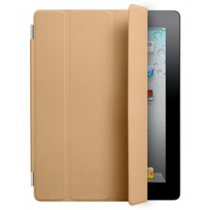 Обложка Apple iPad2 Smart Cover Leather Black (MC948) (коричн)