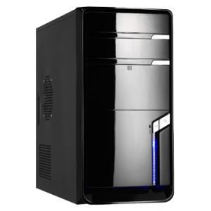 Игровой компьютер Матрица 32 Intel Core i3-2100 3.10 GHz H61 DDR3 4Gb HDD 500Gb DVD-RW ATI HD6750 1024Mb HD Audio LAN Win7HB