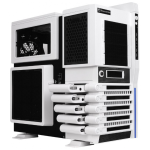 Корпус Thermaltake VN10006W2N Level 10 GT Snow Edition/White/Win/SECC