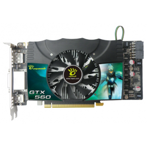 Видеокарта Manli NVIDIA GeForce GTX 560 1024MB DDR5 256bit Dual DVI mini HDMI PCI-Е OEM