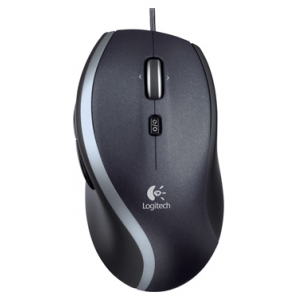 Мышь Logitech Corded Mouse M500 USB Black 1000dpi  [910-001202]