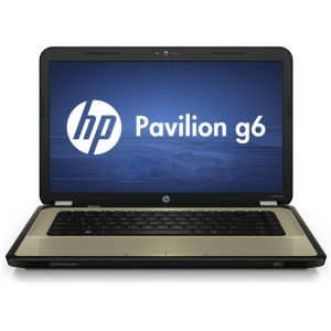 "Ноутбук HP Pavilion g6-1205er 15"" (E2 3000M 4Gb 320Gb DVDRW HD6380 Wi-Fi BT Cam Win-7 HB64) Butter Gold [A1R04EA]"