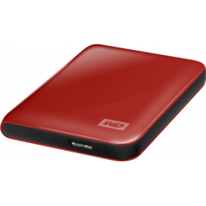 "Жесткий диск USB3.0 500Gb 2.5"" WD My Passport Essential [WDBADB5000ARD-EEUE] Red"