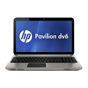 "Ноутбук HP Pavilion dv6-6с02er 15"" (A6 3430MX 4Gb 320Gb DVDRW HD 7670 1Gb Wi-Fi BT Win-7 HB) Gray [A8U46EA]"