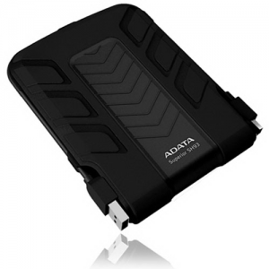 "Жесткий диск USB2.0 750Gb 2.5"" A-Data Sport SH93 [ASH93-750GU-CBK] Black, Shockproof, Waterproof"