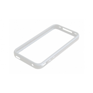 Чехол-бампер Apple iPhone 4s Bumper white (MC668)