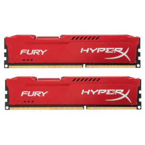 Оперативная память DDR3 1600 16GB (2 x 8Gb) (PC3-12800) Kingston HyperX Fury White HX316C10FWK2/16
