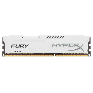 Оперативная память DDR3 1600 4GB (PC3-12800) Kingston HX316C10FW/4 HyperX Fury White Series CL10