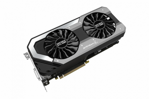 Видеокарта NVIDIA GeForce GTX1080 8Gb PALIT PA-GTX1080 Super Jetstream 8G (1708MHz 8Gb 10000MHz 256Bit GDDR5X DVI HDMI DP)