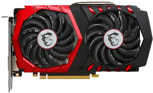 Видеокарта NVIDIA GeForce GTX1050Ti 4Gb MSI GAMING X 4G