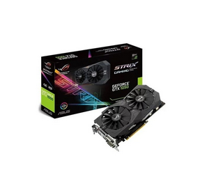Видеокарта NVIDIA GeForce GTX1050Ti 4Gb ASUS STRIX-GTX1050TI-O4G-GAMING
