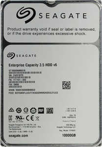 Жесткий диск SATA 10Tb Seagate  ST10000NM0016 Enterprise Capacity 7200RPM 256Mb