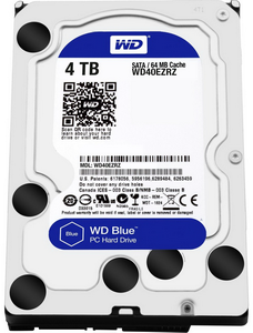 Жесткий диск 4Tb Western Digital Blue WD40EZRZ 5400rpm 64Mb