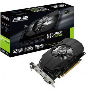 Видеокарта NVIDIA GeForce GTX1050Ti 4Gb ASUS PH-GTX1050TI-4G (1290Mhz 4Gb 7008Mhz 128bit DVI HDMI DP)