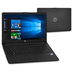 "Ноутбук HP 15-bs037ur [1VH36EA] jack black 15.6"" {HD Pen N3710/4Gb/500Gb/W10}"