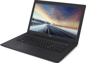 "Ноутбук Acer TravelMate TMP278-M-P57H [NX.VBPER.010] black 17.3"" {HD+ Pen 4405U/4Gb/500Gb/W10}"