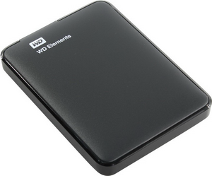 "Жесткий диск USB3.0 1Tb 2.5"" WD Elements Portable [WDBUZG0010BBK-WESN] Black"