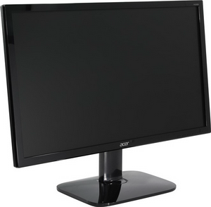"Монитор 24"" Acer KA240Hbid черный {TN 1920x1080, 5ms, 250cd/m2, 170°/160°, 100M:1, D-Sub, DVI, HDMI}"