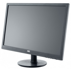 "Монитор 24"" AOC e2460Sh черный {TN LED, 1920x1080, 1ms, 170/160, 20M:1, 250cd DVI, VGA, HDMI}"