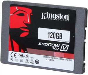 SSD диск 120Gb Kingston A400 SA400S37/120G (320/500 Мб)