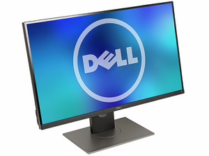 "Монитор 27"" Dell UltraSharp UP2716D черный (IPS LED 2560x1440 6мс 16:9 HDMI 300cd 178/178 DisplayPort) [716D-2054]"