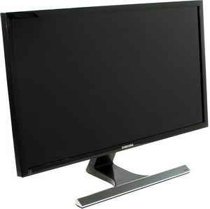 "Монитор 28"" Samsung U28E590D черный (TN+film LED 3840x2160 1мс 16:9 HDMI 700:1 370cd 170гр/160гр DisplayPort)"