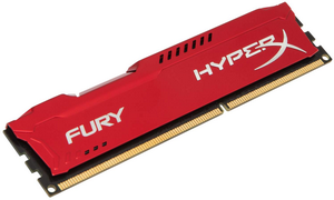 Оперативная память DDR3 1866 4GB (PC3-15000) Kingston HX318C10FR/4 HyperX Fury Red Series