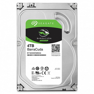 Жесткий диск 4Tb Seagate BarraCuda ST4000DM004 5400rpm 256Mb