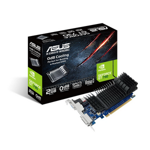 Видеокарта NVIDIA GeForce GT730 2Gb ASUS GT730-SL-2GD5-BRK