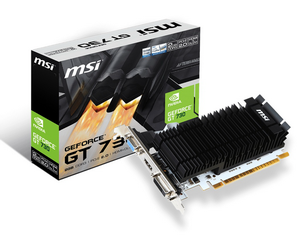 Видеокарта NVIDIA GeForce GT710 2Gb MSI 2GD3H LP