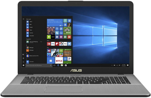 "Ноутбук Asus X705UF-BX014T [90NB0IE2-M02140] Grey 17.3"" {FHD i3-7100/4Gb/1Tb/MX110 2Gb/W10}"