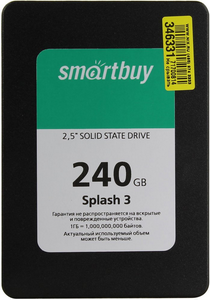 SSD диск 240Gb Smartbuy Splash 3 SB240GB-SPLH3-25SAT3