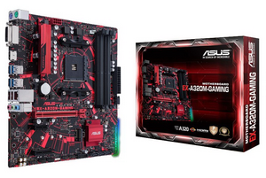 Материнская плата ASUS EX-A320M-GAMING (AMD A320 AM4 4xDDR4 DVI HDMI mATX)