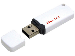Флешка USB 2.0 QUMO 16GB Optiva 02 White